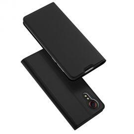 """Juodas atverčiamas dėklas Samsung Galaxy G525 Xcover 5 """"Dux Ducis Skin Pro"""""""