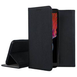 """Juodas atverčiamas dėklas Samsung Galaxy G525 Xcover 5 """"Smart Magnet"""""""
