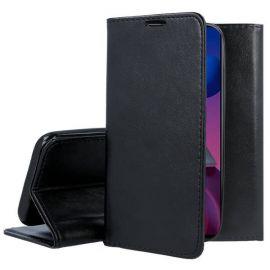 """Juodas atverčiamas dėklas Samsung Galaxy M51 """"Smart Magnetic"""""""