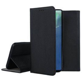 """Juodas atverčiamas dėklas Samsung Galaxy Note 20 """"Smart Magnet"""""""
