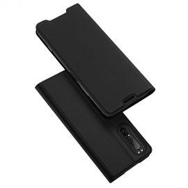 """Juodas atverčiamas dėklas Sony Xperia 1 II """"Smart Magnet"""""""