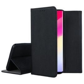 """Juodas atverčiamas dėklas Xiaomi Mi Note 10 Lite """"Smart Magnet"""""""