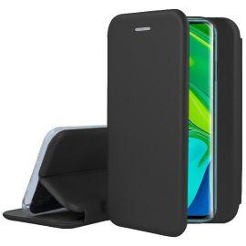 """Juodas atverčiamas dėklas Xiaomi Mi Note 10 / Mi Note 10 Pro / Mi CC9 Pro """"Book Elegance"""""""