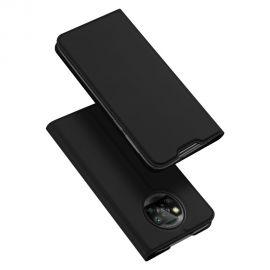 """Juodas atverčiamas dėklas Xiaomi Mi Poco M3 / Redmi 9T """"Dux Ducis Skin Pro"""""""