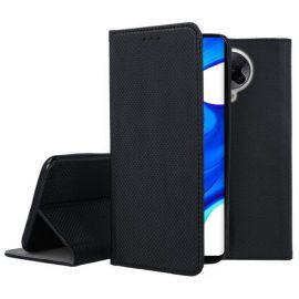 """Juodas atverčiamas dėklas Xiaomi Poco F2 Pro / Redmi K30 Pro / K30 Pro Zoom """"Smart Magnet"""""""