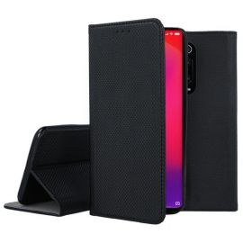 "Juodas atverčiamas dėklas Xiaomi Redmi K20 / K20 Pro / Mi 9T / Mi 9T Pro ""Smart Magnet"""