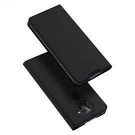 """Juodas atverčiamas dėklas Xiaomi Redmi Note 9 """"Dux Ducis Skin Pro"""""""