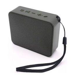 Juodas Bluetooth nešiojamas garsiakalbis Setty Speaker W5r
