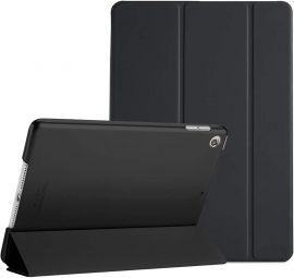 """Juodas dėklas Apple iPad 10.2 2019 """"Smart Leather"""""""