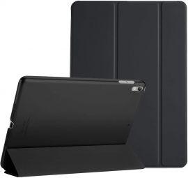 """Juodas dėklas Apple iPad Air 3 2019 / Pro 10.5 2017 """"Smart Leather"""""""