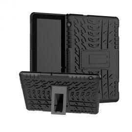"""Juodas dėklas Huawei MediaPad T5 10.0 """"Shock-Absorption"""""""