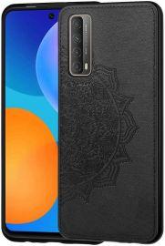 """Juodas dėklas Huawei P Smart 2021 """"Mandala"""""""