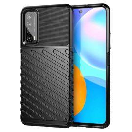 """Juodas dėklas Huawei P Smart 2021 """"Thunder """""""