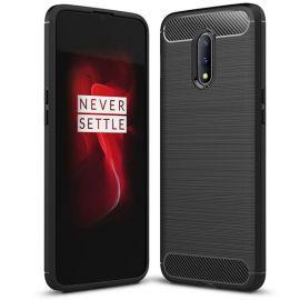 """Juodas dėklas OnePlus 7 """"Carbon Lux"""""""