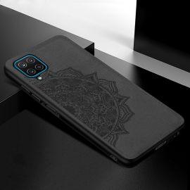 "Juodas dėklas Samsung Galaxy A426 A42 ""Mandala"""