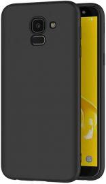 """Juodas dėklas Samsung Galaxy J600 J6 2018 """"Spigen TPU"""""""