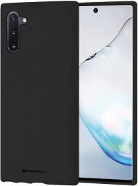 """Juodas dėklas Samsung Galaxy N970 Note 10 """"Mercury Soft"""""""