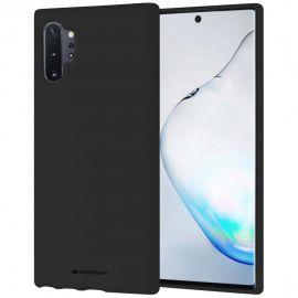 """Juodas dėklas Samsung Galaxy N975 Note 10 Plus """"Mercury Soft"""""""