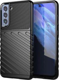 """Juodas dėklas Samsung Galaxy S21 FE """"Thunder """""""
