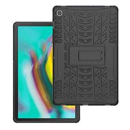 """Juodas dėklas Samsung T720 / T725 Tab S5e """"Shock-Absorption"""""""