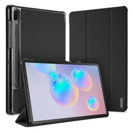 """Juodas dėklas Samsung T860 / T865 / T867 Tab S6 10.5 """"Dux Ducis Domo"""""""