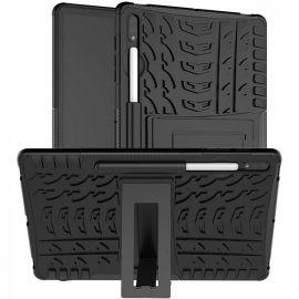 """Juodas dėklas Samsung T870 / T875 Tab S7 11 """"Shock-Absorption"""""""