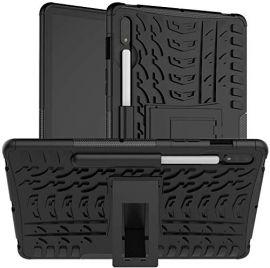"""Juodas dėklas Samsung T970 / T976 Tab S7 Plus 12.4 """"Shock-Absorption"""""""