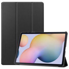 """Juodas dėklas Samsung T970 / T976 Tab S7 Plus 12.4 """"Smart Leather"""""""