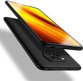 """Juodas dėklas Xiaomi Poco X3 / X3 NFC / X3 Pro """"X-level Guardian"""""""