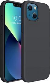 """Juodas silikoninis dėklas Apple iPhone 13 Mini """"Silicon"""""""