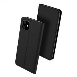 """Juodos spalvos atverčiamas dėklas Apple iPhone 11 """"Dux Ducis Skin Pro"""""""