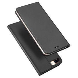 """Juodos spalvos atverčiamas dėklas Apple iPhone 7 Plus / 8 Plus """"Dux Ducis Skin Pro"""""""