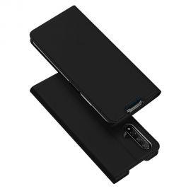 """Juodos spalvos atverčiamas dėklas Huawei Nova 5T / Honor 20 """"Dux Ducis Skin Pro"""""""