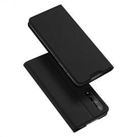 """Juodos spalvos atverčiamas dėklas Huawei P Smart S / Y8P """"Dux Ducis Skin Pro"""""""