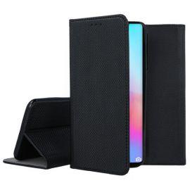"""Juodos spalvos atverčiamas dėklas Huawei P40 Pro """"Smart Magnet"""""""