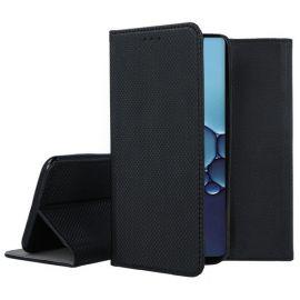 """Juodos spalvos atverčiamas dėklas Huawei P40 """"Smart Magnet"""""""