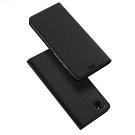 """Juodos spalvos atverčiamas dėklas Huawei Y5P / Honor 9S """"Dux Ducis Skin Pro"""""""