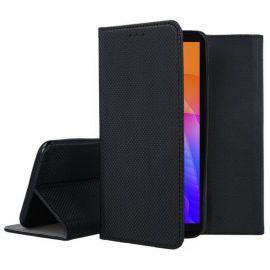 """Juodos spalvos atverčiamas dėklas Huawei Y5P """"Smart Magnet"""""""