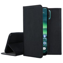 """Juodos spalvos atverčiamas dėklas Nokia 2.3 """"Smart Magnet"""""""