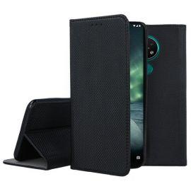 """Juodos spalvos atverčiamas dėklas Nokia 6.2 / 7.2 """"Smart Magnet"""""""