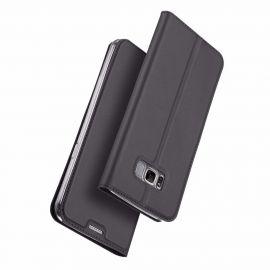 """Juodos spalvos atverčiamas dėklas Samsung Galaxy G950 S8 """"Dux Ducis Skin Pro"""""""