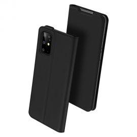 """Juodos spalvos atverčiamas dėklas Samsung Galaxy G986 S20 Plus """"Dux Ducis Skin Pro"""""""