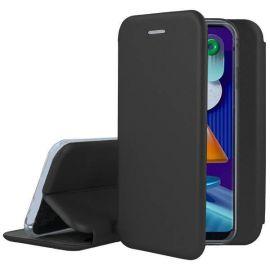 """Juodos spalvos atverčiamas dėklas Samsung Galaxy M11 / A11 """"Book Elegance"""""""