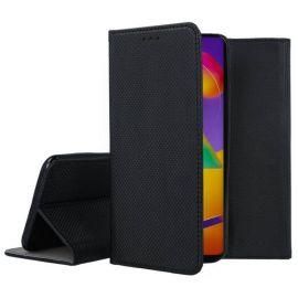 """Juodos spalvos atverčiamas dėklas Samsung Galaxy M317 M31s """"Smart Magnet"""""""