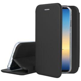 """Juodos spalvos atverčiamas dėklas Samsung Galaxy N960 Note 9 """"Book Elegance"""""""