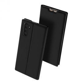 """Juodos spalvos atverčiamas dėklas Samsung Galaxy N970 Note 10 """"Dux Ducis Skin Pro"""""""