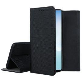"""Juodos spalvos atverčiamas dėklas Samsung Galaxy Note 10 Lite / A81 """"Smart Magnet"""""""