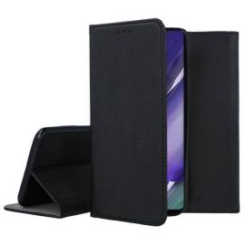 """Juodos spalvos atverčiamas dėklas Samsung Galaxy Note 20 Ultra """"Smart Magnet"""""""
