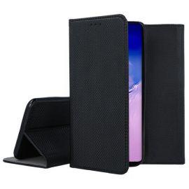 """Juodos spalvos atverčiamas dėklas Samsung Galaxy S10 Lite / A91""""Smart Magnet"""""""