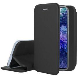 """Juodos spalvos atverčiamas dėklas Samsung Galaxy S20 FE """"Book Elegance"""""""